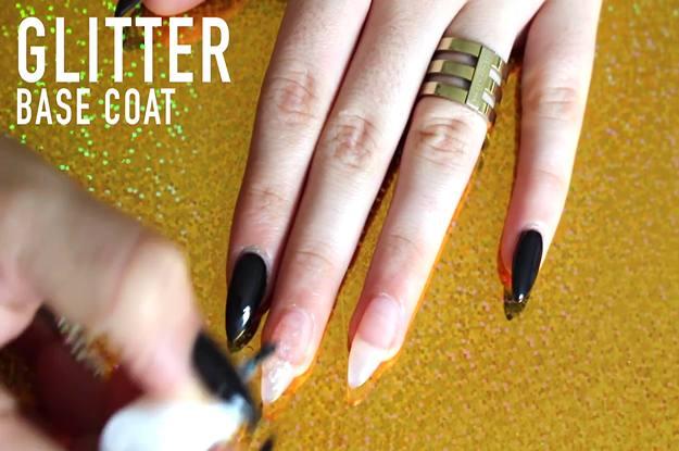 Apply Base Coat | DIY Brilliant Swarovski Crystal Nails Design for an  Exquisite - Tutorial] Brilliant Swarovski Crystal Nails Design