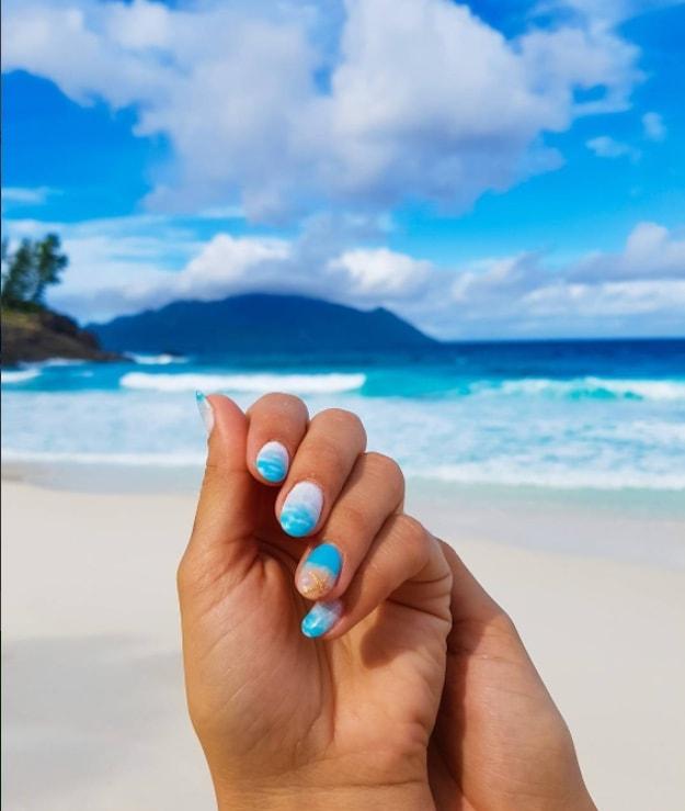Catch The Waves | Fun Beach Nail Art Designs