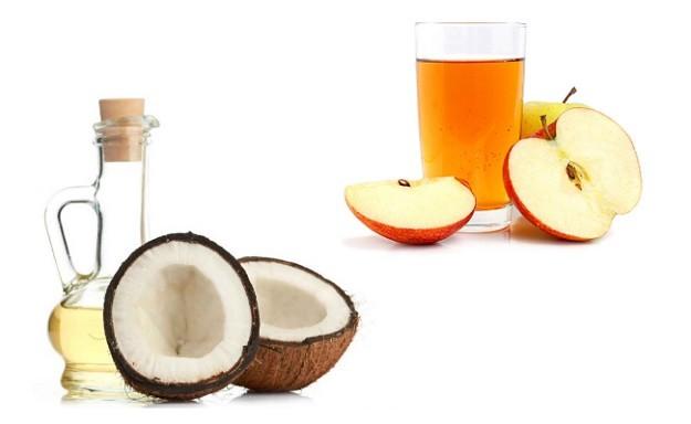 Coconut Oil and Apple Cider Vinegar | Fingernail Health | Splitting Nails VS. Healthy Nails