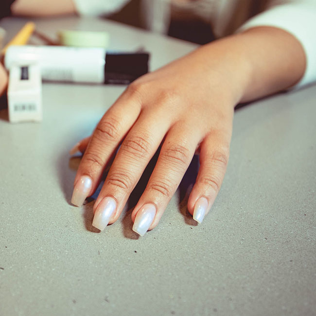 female nails | Lizzo's Trendy Milky White Nails We Absolutely Love
